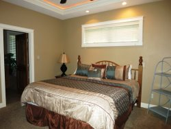 Lincoln City Beach House - Main Level - Master Bedroom - Queen Bed